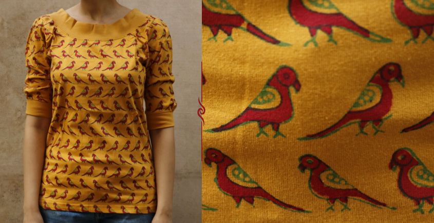 Parrots in the foreground ~ Gaamthi T-shirt - 1