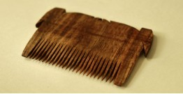 Wooden comb ~ Tribal markings { 1 }