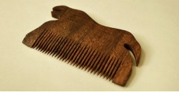 Wooden comb ~ Tribal markings { 3 }