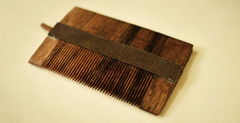 Wooden comb ~ Oil Channel Wooden Comb { 8 }