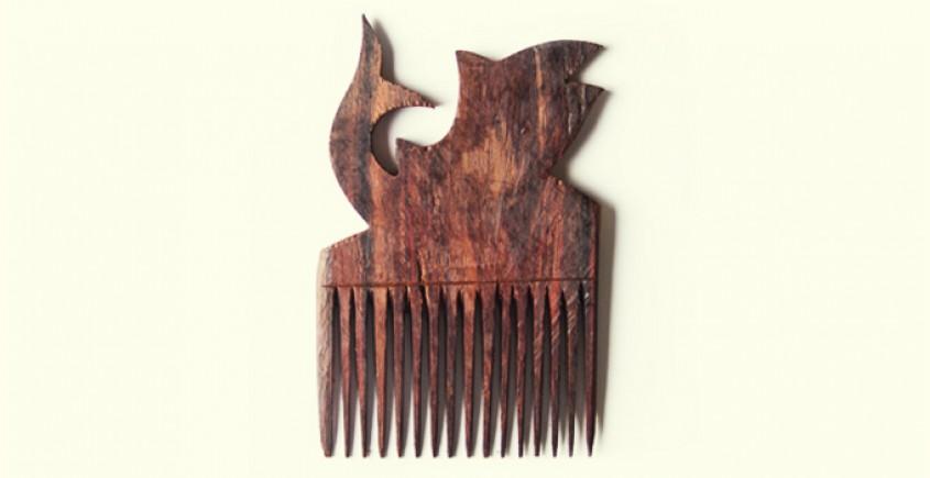 Wooden comb ~ Fish II