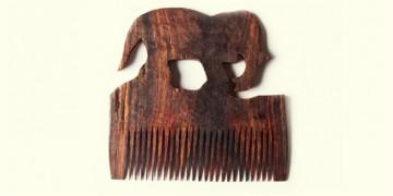 Wooden comb ~ Elephant