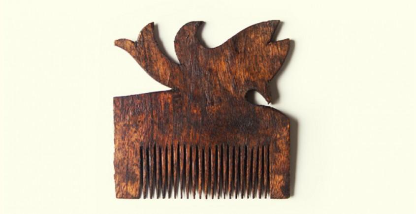 Wooden comb ~ Fish