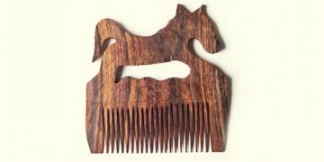Wooden comb ~ Horse
