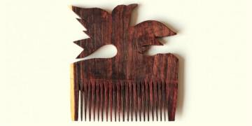 Wooden comb ~ Eagle