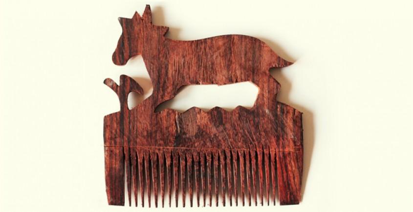 Wooden comb ~ Deer