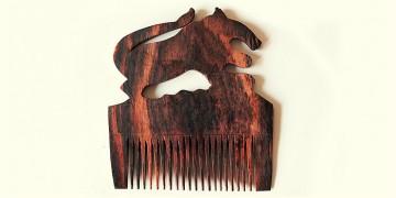 Wooden comb ~ Lion