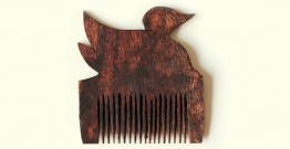 Wooden comb ~ Duck