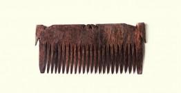 Wooden comb ~ Tribal markings