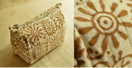 Block Printed Pouch ~ 01