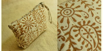 Block Printed Pouch ~ 02