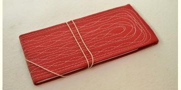 Bahi khata Red diary ☙ 35 { 16 X 8.7 in }