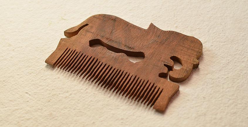 Wooden comb ~ Wooden Comb { 13 }