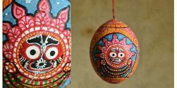 Pattachitra ~ Coconut Hanging ~ 1