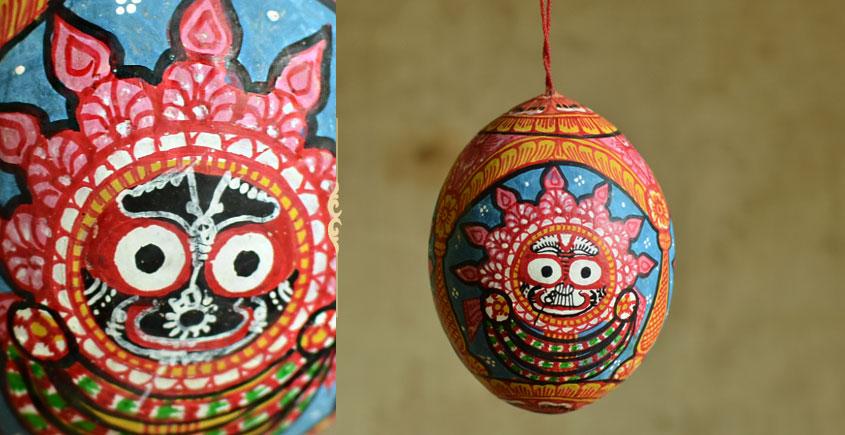 Pattachitra ~ Coconut Hanging ~ 1