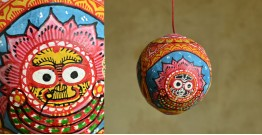 Pattachitra ~ Coconut Hanging ~ 2