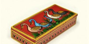 Wooden box ~ Duck drama