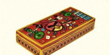 Wooden box ~ Angry bird