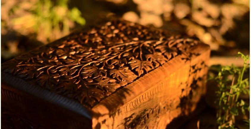 Chinar kul ~ Walnut wood box