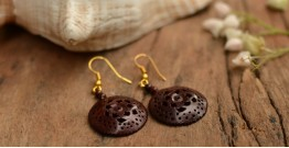 Kadam ☙ Wooden Earring ☙ B