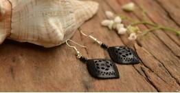 Kadam ☙ Wooden Earring ☙ A