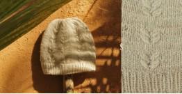 Cashmere Cloud ~  Pashmina Woolen Cap ~ 2
