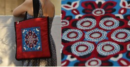 Hand Embroidered Tote Bag ~ 1