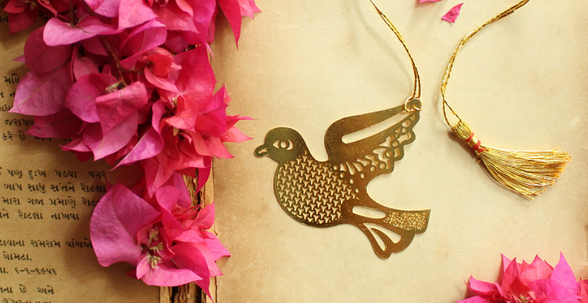 A Golden Tag ❉ Gold Plated Bookmarks ❉ 4