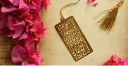 A Golden Tag ❉ Gold Plated Bookmarks ❉ 5
