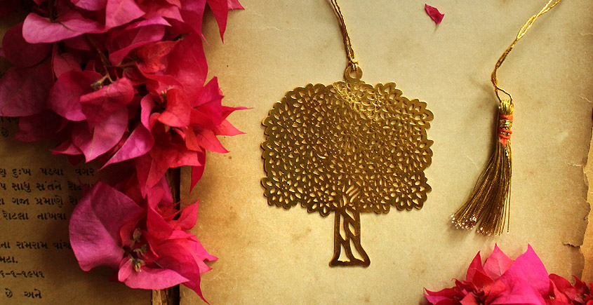 A Golden Tag ❉ Gold Plated Bookmarks ❉ 9