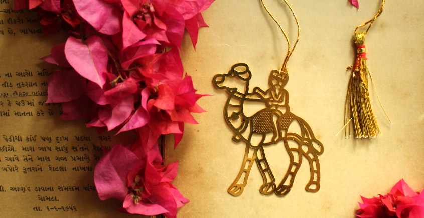A Golden Tag ❉ Gold Plated Bookmarks ❉ 17