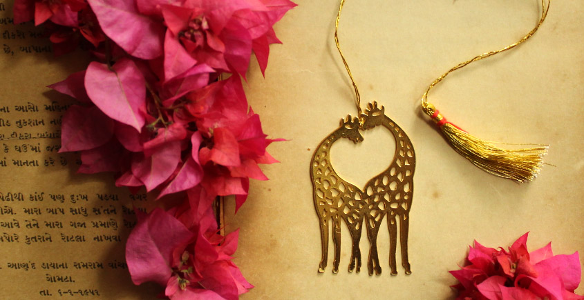 A Golden Tag ❉ Gold Plated Bookmarks ❉ 20