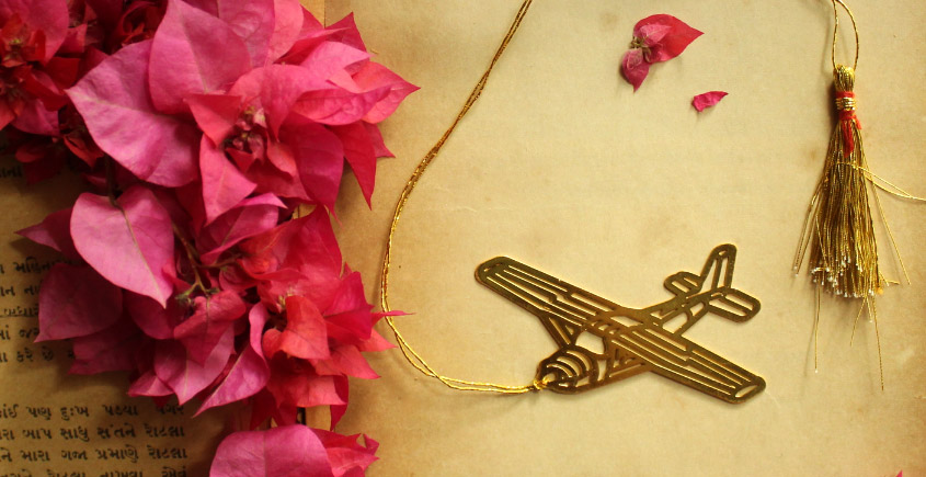 A Golden Tag ❉ Gold Plated Bookmarks ❉ 21