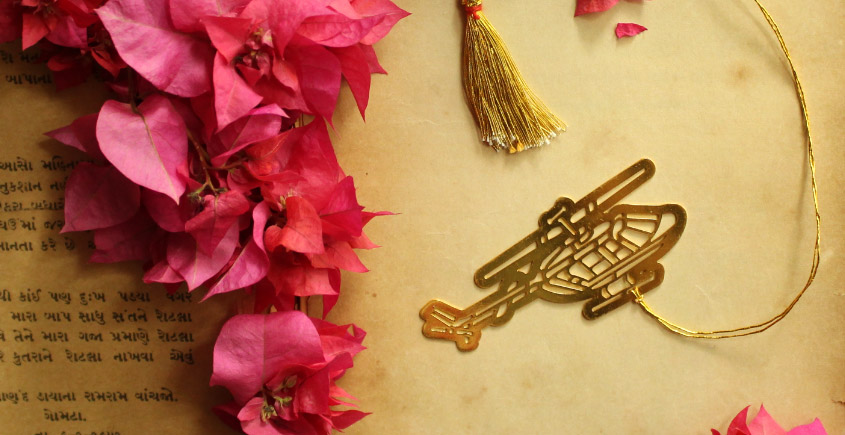 A Golden Tag ❉ Gold Plated Bookmarks ❉ 22