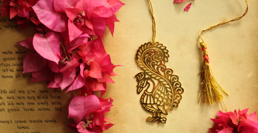 A Golden Tag ❉ Gold Plated Bookmarks ❉ 24