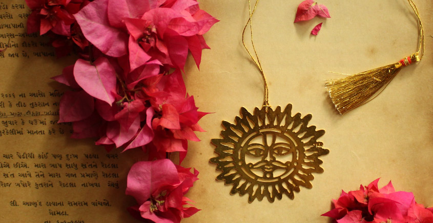 A Golden Tag ❉ Gold Plated Bookmarks ❉ 25
