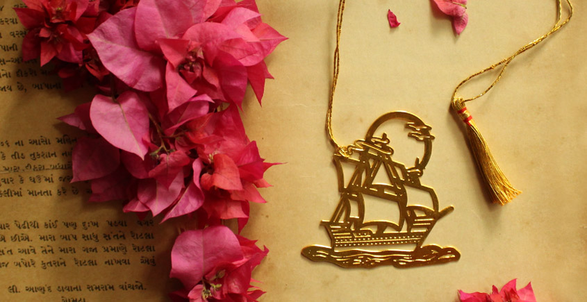 A Golden Tag ❉ Gold Plated Bookmarks ❉ 30