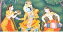 Pichwai Painting ~ Radha. Krishan { 2 X 3 }