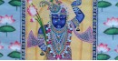 Pichwai Painting ~ Shrinath ji with lotus