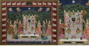 Pichwai Painting ~  Sharad Poornima subject