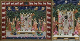 Pichwai Painting ~  Sharad Poornima ~ { 3X4 Feet }