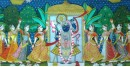 Sharad Poornima . Fine work ~ { 3X4 Feet }