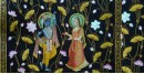 Pichwai Painting ~ Kamal Talai . Radha Krishna ~ { 3 X 5 Feet}