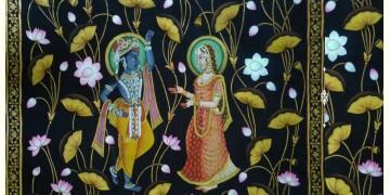 Kamal Talai . Radha Krishna ~ { 3 X 5 Feet}