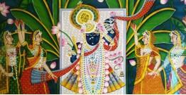 Srinath ji . Kamal taal { 3.5 X 5 Feet }