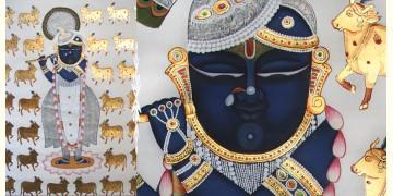 Pichwai Painting ~ Shyam ~ { 3X4 Feet }