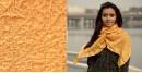 Ela ☘ Naturally Dyed . Bandhani Silk Stole ☘ 9