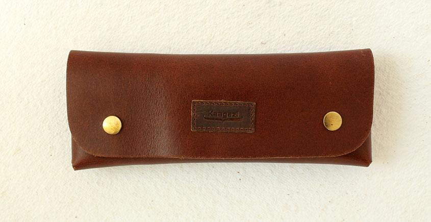 Kaagazi ♠ Leather Multipurpose Case ~ 35