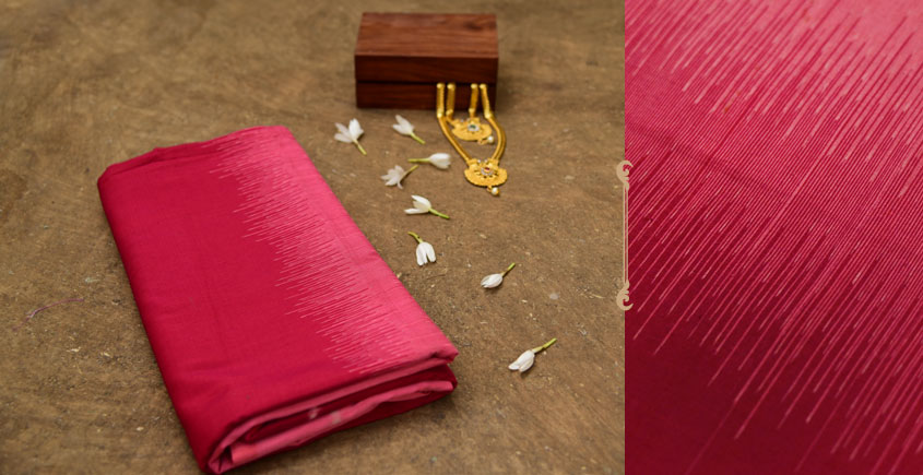 Dakshyayani ✲ Handwoven Ikat Cotton Saree ✲ 5