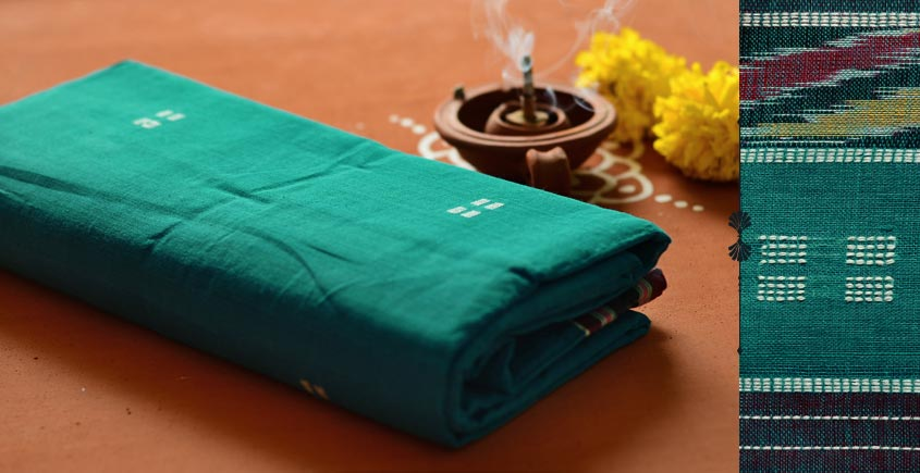 Cotton weaves ~ Saree { Vari }